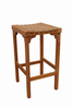 Anderson Teak Garden Furniture Montego Backless Bar Chair