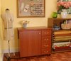 Arrow Sewing  Sewing Storage Cabinet - Norma Jean (Cherry)