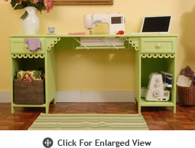 Arrow Sewing  Sewing Storage Cabinet - Olivia (Pistachio Green)