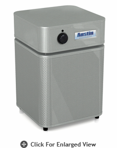 Austin Air Allergy Machine Jr. HEGA™ Air Purifier Silver