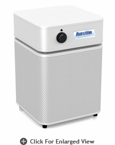 Austin Air HealthMate Plus Jr.™ Air Purifier White