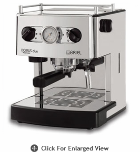 Briel Domus Due Espresso Machine Stainless Steel