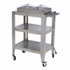 BroilKing�  Mobile Double Buffet Warming Cart  With Clear Individual Lids