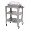 BroilKing®   Mobile Triple Buffet Warming Cart  With Rolltop Lids