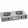 BroilKing  Professional Double Burner Range  Stainless Steel