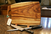 Camphor Laurel Boards are Safe on Knives
