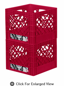Campus Crates  University of Alabama  Set of 2 - Red
