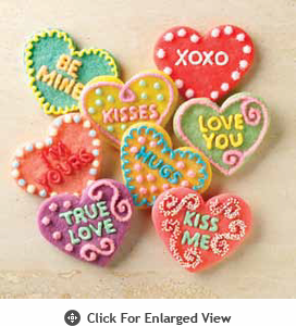Chicago Metallic Baking Essentials Conversation Heart Cookie Cutters
