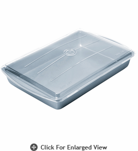 Chicago Metallic Betterbake™ Non-Stick Make & Take Pan w/ Lid