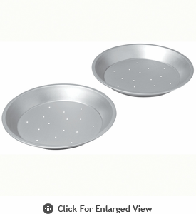 Chicago Metallic Commercial II  Perforated 2 pc Pie Pan Set