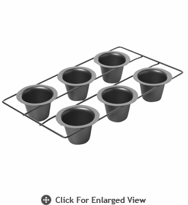 Chicago Metallic™ 6 Cup Popover Pan