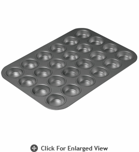 Chicago Metallic™ Non-Stick 24 Cup Mini Muffin Pan