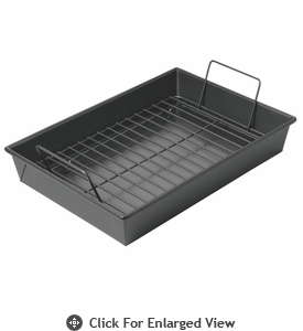 "Chicago Metallic™ Non-Stick 9 x 13"" Roast Pan with Rack"