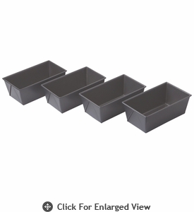 Chicago Metallic™ Non-Stick Mini Loaf Pans set of 4
