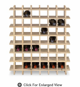 Cubby Rack 42 Bottle Natural