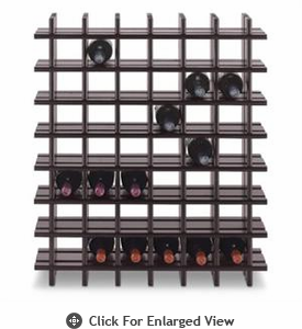 Cubby Rack 42 Bottle Stained