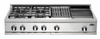 "DCS 48"" 4 Burner, Griddle & Grill Natural Gas Cooktop"