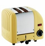 Dualit 2-Slice Classic Bread Toaster Canary Yellow