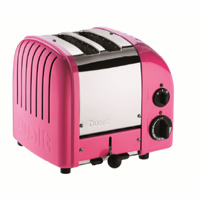 Dualit  2-Slice Classic Bread Toaster Chilly Pink