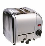 Dualit 2-Slice Classic Bread Toaster Chrome