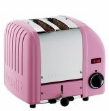 Dualit 2-Slice Classic Bread Toaster Petal Pink