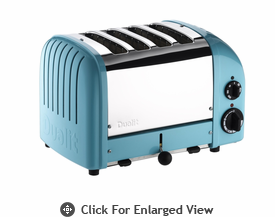 Dualit  4-Slice Classic Bread Toaster Azure Blue
