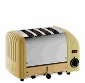 Dualit 4-Slice Classic Bread Toaster Canary Yellow