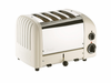 Dualit  4-Slice Classic Bread Toaster  Canvas White