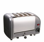 Dualit 4-Slice Classic Bread Toaster Charcoal