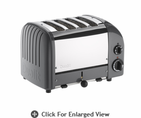 Dualit  4-Slice Classic Bread Toaster Cobble Gray