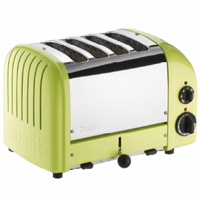 Dualit  4-Slice Classic Bread Toaster Lime Green