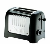 Dualit Lite 2-Slice Commercial Toaster Soft Touch Black