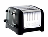 """Dualit Lite 4 Slot Traditional Design """"CHUNKY"""" Commercial Toaster - Black Soft Touch"""