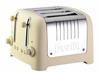 Dualit Lite 4 Slot Traditional Design �CHUNKY� Commercial Toaster - Cream Soft Touch