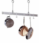 Enclume�   Offset Hook Ceiling Bar  Pot Rack  Chrome