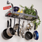 Enclume Rack it Up!  Bookshelf Pot Rack