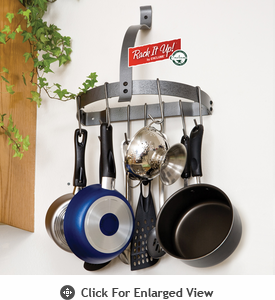 Enclume Rack it Up! Half Moon Pot Rack