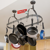 Enclume Rack it Up!  Oval Pot Rack