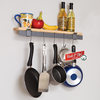 Enclume Rack it Up!  Wall Bar & Bamboo Shelf