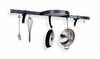 Enclume� Wall Shelf with Half Circle Pot Rack Hammered Steel