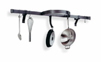 Enclume�  Wall Shelf with Half Circle  Pot Rack  Stainless Steel