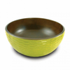 Enrico Avocado Mango Wood Serving Bowl and Servers