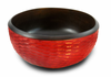 Enrico Brick Mango Wood Serving Bowl and Servers