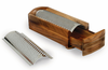 Enrico Cheese Grater & Shredder - Acacia Wood