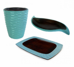 Enrico  Eco-Friendly  Mangocraft Collection  Turquoise