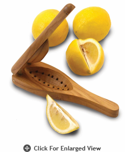 Enrico EcoTeak Wood Lemon Squeezer