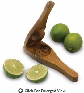Enrico EcoTeak Wood Lime Squeezer