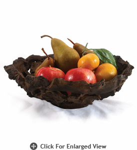 Enrico Large Driftwood Fruit Bowl