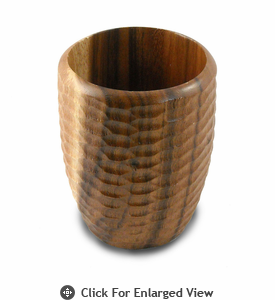 Enrico Products Natural Acacia Wood Utensil Vase