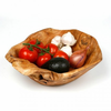 Enrico Root Wood Large Bowl with Root Servers